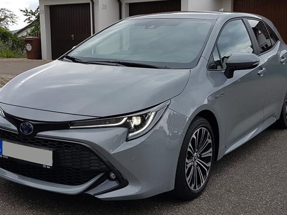 Mein Toyota corolla Hybrid