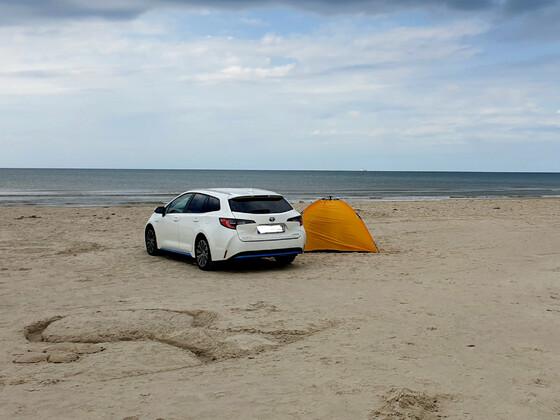 Einsam und allein in Dänemark